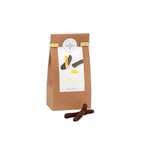 Café-Tasse лимон покрит с шоколад